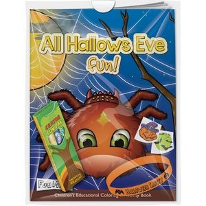 Halloween Combo Pack - Fun Mask Coloring Book - All Hallows Eve